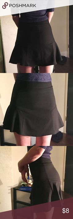Little black skirt Like new only used once for about 2 hours.  No rips or stains  From a smoke free home Rhapsody Skirts Mini