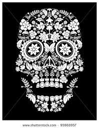 day of the dead skull - Google Search