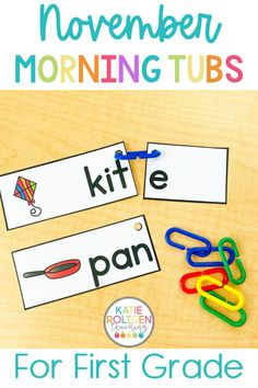 Need an easy, low-prep way to start the school day in your primary classroom? These first grade morning work tubs for November are the perfect way to begin your day while your students practice math, literacy, fine motor, and social skills. First grade morning work tubs are also a wonderful way to introduce, review, and remediate different content areas and skills in your primary classroom.