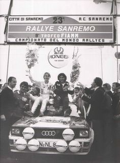 The 1981 Rally Sanremo was the maiden victory for Michele Mouton and the Audi…