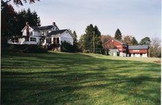 Farm house and stable barn