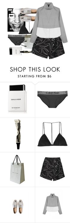 """""""awkward rogers"""" by cinnamondonut ❤ liked on Polyvore featuring Givenchy, Calvin Klein Underwear, Aesop, Dion Lee and Marc Jacobs"""