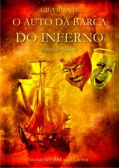 """Capa do livro """"Auto da Barca do Inferno"""" de Gil Vicente."""