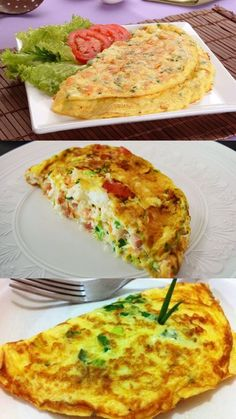 Quiche, Egg Fast, Crepes, Waffles, Breakfast Recipes, Brunch, Food And Drink, Low Carb, Healthy Recipes