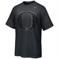 Nike Oregon Ducks 2012 Chrome Package Authentic T-Shirt - Charcoal
