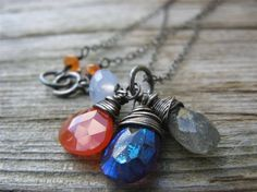 beautiful semi-precious stones would love one of these with a beautiful piece of amethyst