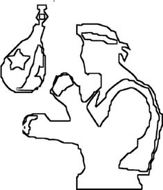 Exercise Boxing Coloring Page Boxing Day, Coloring Pages, Exercise, Quote Coloring Pages, Ejercicio, Excercise, Kids Coloring, Work Outs, Workout