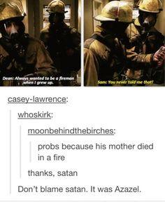 Poor Dean.