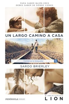 Un largo camino a casa by Saroo Brierley - Books Search Engine Cgi, Good Books, My Books, Lion, Online Match, Long Way Home, Love Book, Book Lovers, Books Online