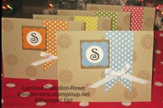 Boxed Gift Card Set on Lorraine's Stampin' Spot - www.lorrainerowe.blogspot.com