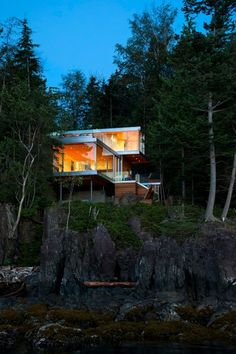Gambier Island House, Gambier Harbour, 2013 - mcfarlane green biggar architecture + design