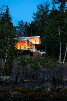 Gambier Island House, Gambier Harbour, 2013 - mcfarlane green biggar architecture + design