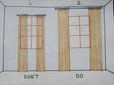 design sponge curtains on 3 window - Recherche Google More