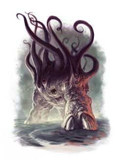 Dark Young of Shub-Niggurath [by scott Purdy]