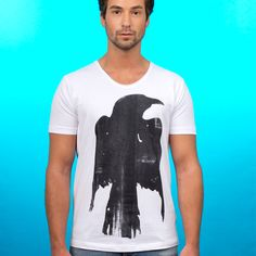 "T-SHIRT ""RAVEN"" // Artist: Annie for Ingmar Studio. Click on the image to see more"