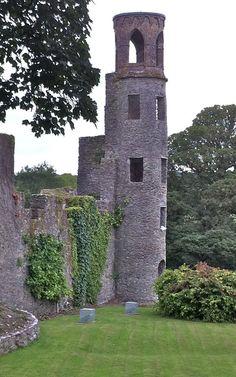 Blarney Castle corner tower, Cork, Ireland