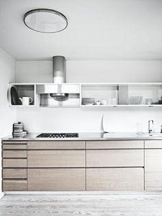 Wood and steel kitchen interior design ideas кухня, дом, мебель. Kitchen Inspirations, Interior Design Kitchen, Simple Kitchen Design, Wood Kitchen, Minimalist Kitchen, Kitchen Room, Kitchen Remodel, Kitchen Renovation, Contemporary Kitchen