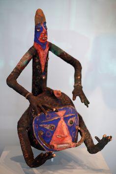 Vanuatu, Tribal Art, Helmet, Masks, Spirit, African, Sculpture, Dolls, Christmas Ornaments