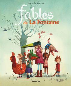 Amazon.fr - Les contes : Fables de la Fontaine - Dès 5 ans - Jean de La Fontaine, Nicolas Jaillet, Éric Puybaret - Livres