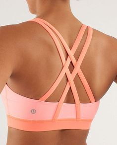 """Energy Bra for a little """"support"""" and love @lululemon athletica"""