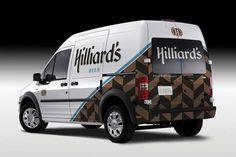 Hilliard's Beer Vehicle Wrap