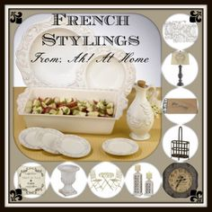 In honor of Bastille Day, I have put together a few items that are sure to bring a little French flair into your home. Visit my website to see which ones are on sale now at; http://marykeels.athome.com/home.html