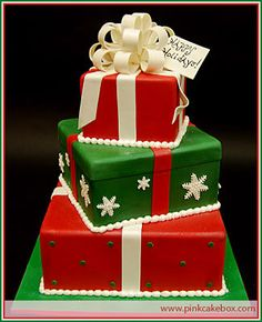 Now that's a Holiday cake!