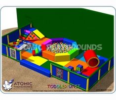 Atomic Playgrounds specializes in design and theming and produces some of the most outstanding indoor playgrounds worldwide.