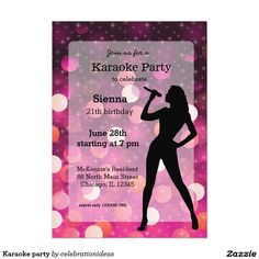 Sold #Karaoke #sing #party Available in different products. Check more at www.zazzle.com/celebrationideas