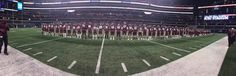 Ennis won the toss and defer to second half--state finals. 2014