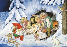 . Father Christmas, Christmas And New Year, Baumgarten, Elves And Fairies, Cute Fairy, All Nature, Fantasy Creatures, Goblin, Faeries