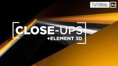Close-ups + Element 3D - Tutorial After Effects [Español]