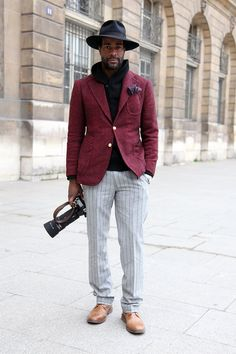 As per Fashion Press. At the Shows in Paris: Street Style