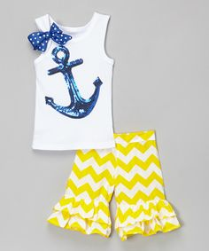Look at this White Anchor Tank