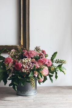 Created by Nessa Buonomo, Floral Arranging 101 through NicolesClasses.com