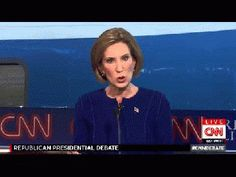 Carly Fiorina moves ahead in the polls by proving that she knows how to  cling to a lie.