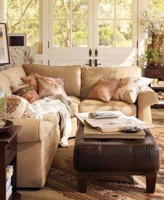 Living Room Decorating Ideas | Living Room Decor Ideas | Pottery Barn