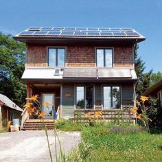 Building an Affordable, Sustainable Home  -   A team of builders constructed Canada's greenest home while keeping it uncomplicated and cost-effective. #greenhouseeffect