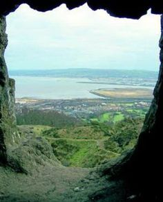 inside the cave of Cave Hill, Belfast, Northern Ireland, UK