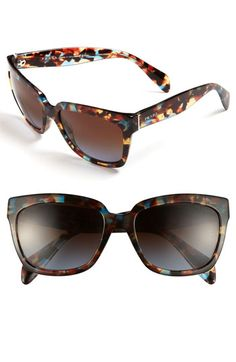 Prada Sunglasses available at #Nordstrom in black