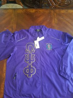 f9798e62b99 Omega Psi Phi (Line Jacket) Windbreaker