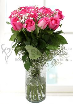This #Mother's #Day, fill you mother's heart with your #love and affection through these blooming #pink #roses.