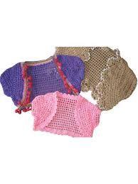Image result for free crochet patterns for baby bolero