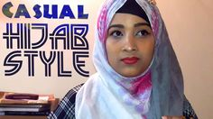 Casual Hijab Style | Hijab Fashion Casual Modern | Riku Haque