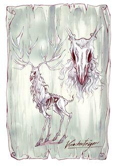 """Ein Knochenträger aus """"Herz aus Schatten"""" - Illustration von Anja Uhren Illustration, Shadows, Heart, Illustrations"""
