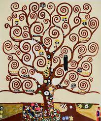 Bildergebnis für oil painting tree tattoo