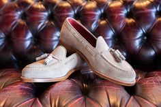 Cool suede on the Union last. #Cobblerunion  The Steven III #loafer by Cobbler Union  http://www.cobbler-union.com/collections/the-loafers/products/steven-iii-milk-shake-on-union-last?redirect_log_mongo_id=56c4a31d64336143f7480100&redirect_mongo_id=56c4a29f36376148b7200100&sb_referer_host=cblr.co