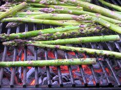 We enjoyed grilled asparagus last weekend!