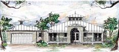 House Plan 73613 | Florida Ranch Plan with 1997 Sq. Ft., 3 Bedrooms, 4 Bathrooms, 2 Car Garage at family home plans