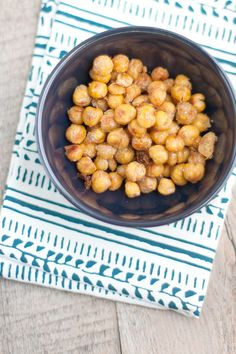 Roasted Chickpeas, healthy snack